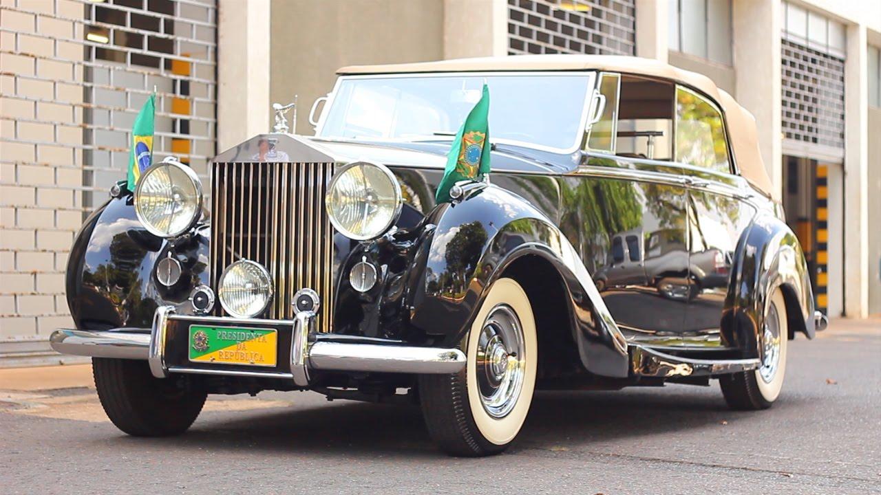 c640710f1 Rolls-Royce Silver Wraith – A história por trás do carro da presidência –  Parte 1