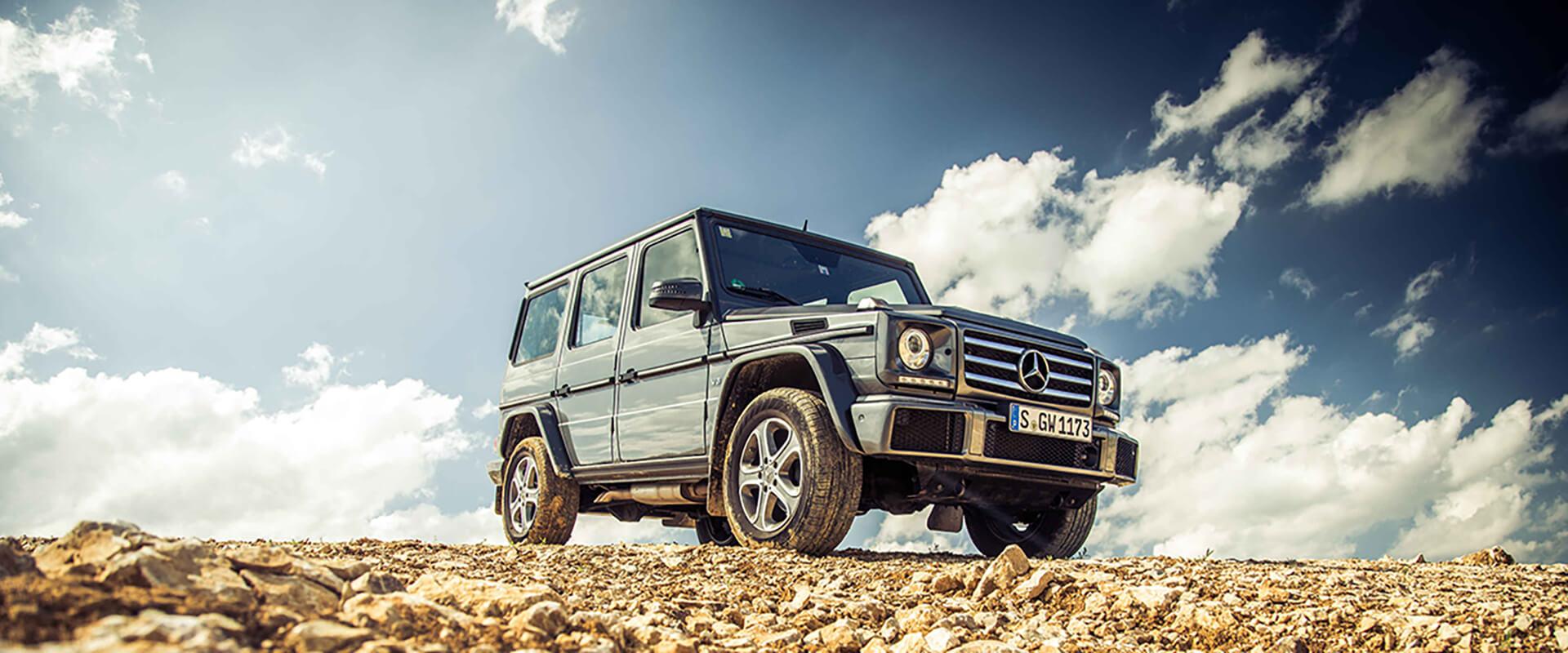 Mercedes Classe G – Nascido para o Off Road
